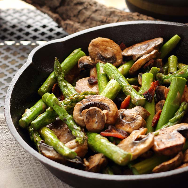 how to make a mushroom side dish